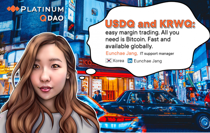 USDQ/KRWQ and Q DAO Challenge Status Quo in Stablecoins. Trade USDQ and on BTCNEXT with Look for New Coins KRWQ, CNYQ and JPYQ in Coming Months. Reasons to Call USDQ/KRWQ a Paradigm Shift