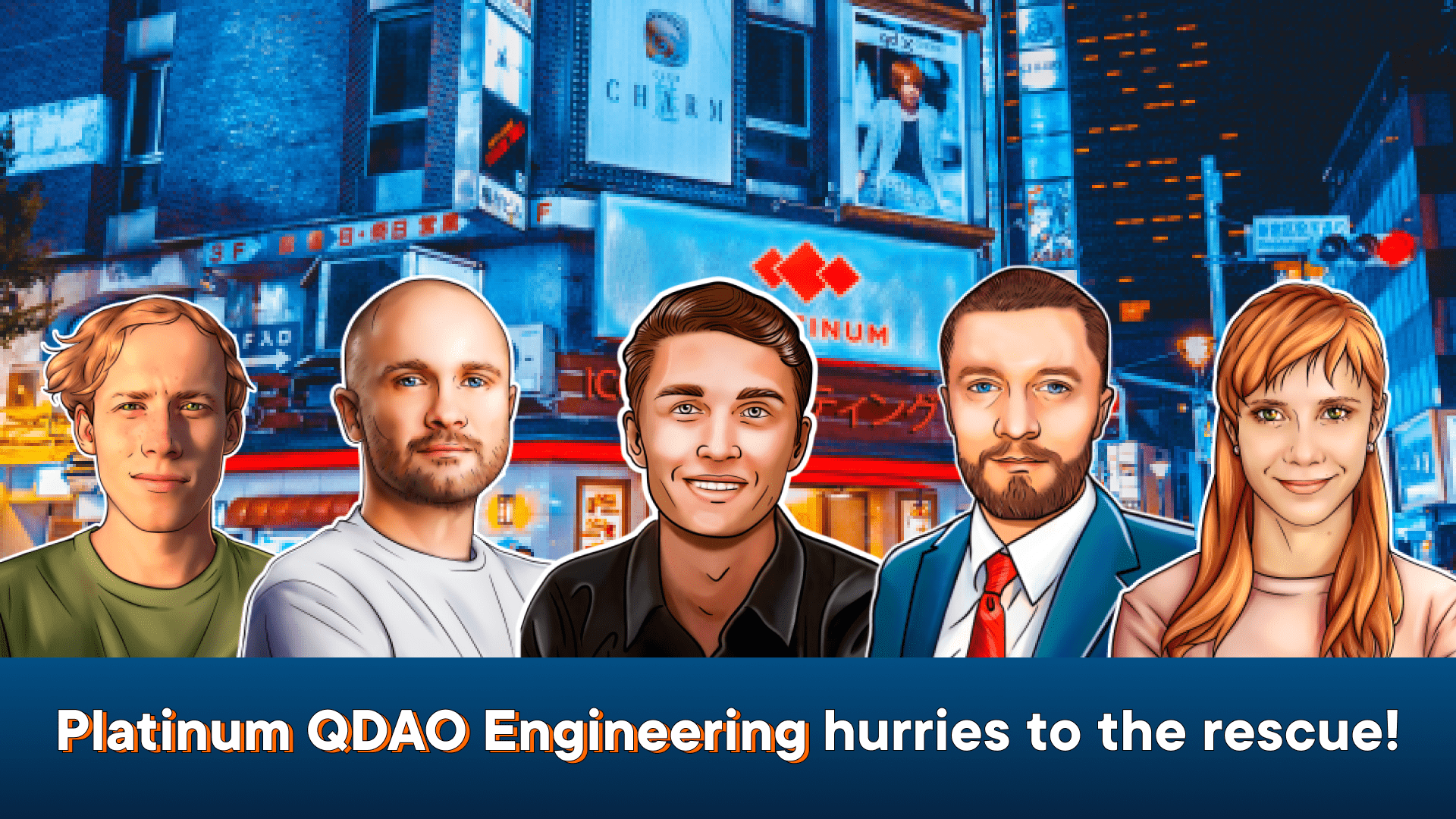 Platinum Q DAO Engineering and the Noah project  – Stronger Together